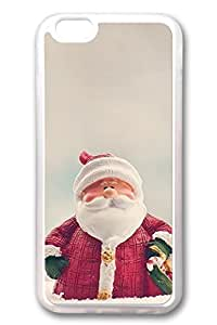 iPhone 6 Cases, Personalized Protective Soft Rubber TPU Clear Case Cover for New iPhone 6 4.7 inch Santa Claus01
