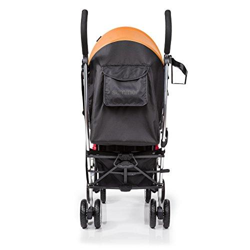 Summer Infant 3Dlite Convenience Stroller, Tangerine