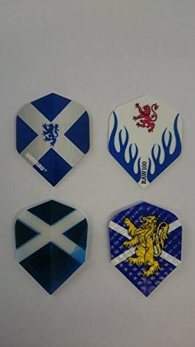 3 SETS SCOTLAND ST ANDREWS DART FLIGHTS  1 SET OF EACH