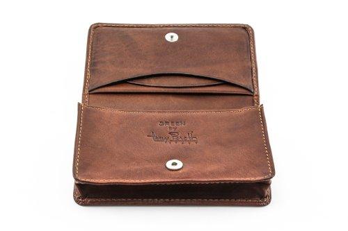 Leather Pocket Business Card Holder - 8