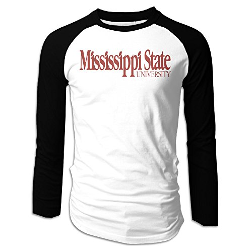 [AIJFW Mississippi State University Bulldogs Men's Crewneck Tee XXL] (Young Elvis Presley Costumes)