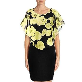 Trtendy Slim Black Mini Dress