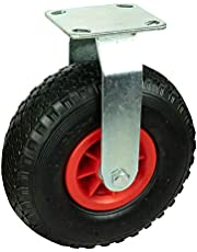 HRB 260 mm transportwiel 130 kg bokwiel met houder en wiel, luchtwiel