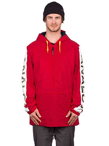 Analog Chainlink Snow Process Jacket Red Anorak BCBwAFq