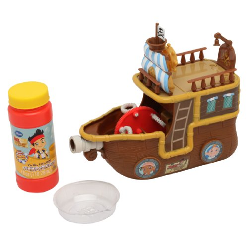 Imperial Toy Jake and The Never Land Pirates Yo Ho Let's Go Pirate Ship Bubble Machine