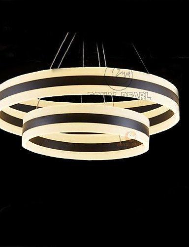 DXZMBDM® 120W Zeitgenössisch LED Andere Acryl PendelleuchtenWohnzimmer / Schlafzimmer / Esszimmer / Studierzimmer/Büro / Kinderzimmer / Spielraum , white-90-240v