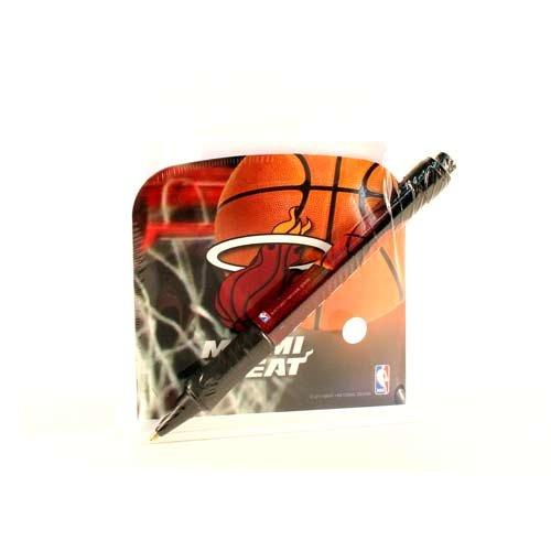 (National Design NBA Desk Caddy with Pen, Miami Heat (3648-NBA-IDA))