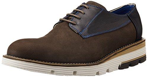 Fonti Men's Brown Formal Shoes