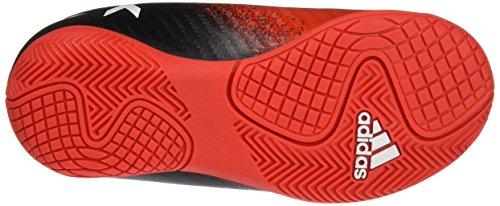 adidas X 16.4 In J, Botas de Fútbol Niños Red-Black