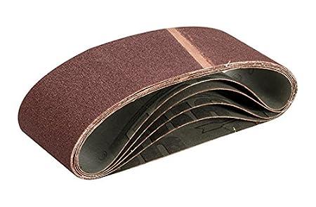 Triton TPTA12689327 75 x 533 mm 100 Grit Sanding Belt - Multi-Colour (Pack of 5)