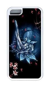 IMARTCASE iPhone 5C Case, Fairy Tale Case for Apple iPhone 5C TPU - White