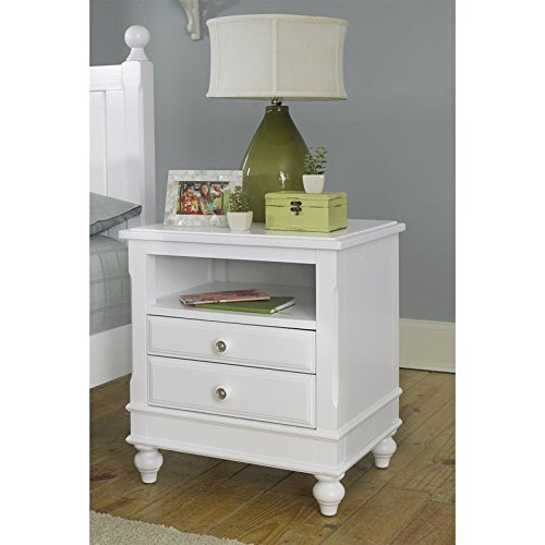 NE Kids Lake House Nightstand in White by NE Kids