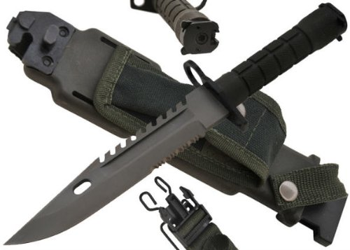 13 in Bayonet M-16 / Ar-15 CLD78 – Tactical / Survival Knives, Outdoor Stuffs