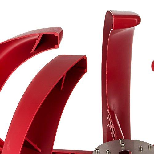Happybuy Wind Turbine 400W 12V Wind Turbine Generator Red Lantern Vertical Wind Generator 5 Leaves Wind Turbine Kit with Controller No Pole by Happybuy (Image #5)