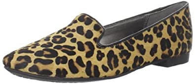 Kenneth Cole REACTION Women's How Low Loafer,Leopard,5 M US