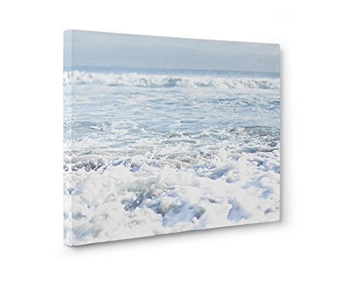 Large Format Prints, Canvas or Unframed, Beach Art Ocean Waves Coastal Decor, Fresh Surf' by Offley Green