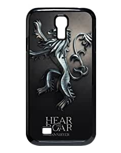 Top Samsung Galaxy Case Game of Thrones Case Cover Best Samsung Galaxy S4 I9500 Case (Plastic,Black)
