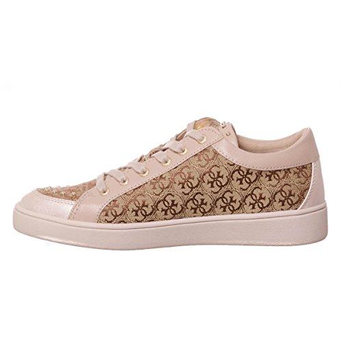Dorado Zapatillas 38 Sneakers Beige GUESS Mujer Talla fBYRP47cW