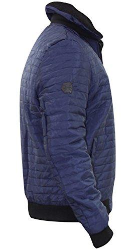 New Brand Padded Kangol Winter Jacket Navy Bomber Designer Coat Quilted Mens Heavy 4qt0trd