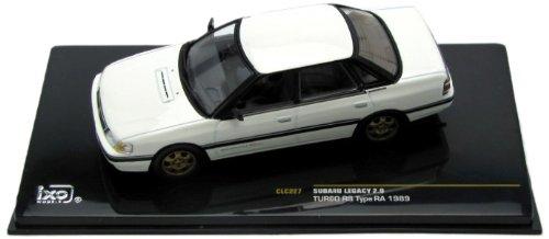 Subaru Legacy 2.0 Turbo RS Type RA White - 1989 - 1/43rd Scale IXO Model