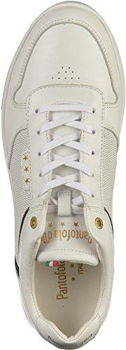 Pantofola Homme Uomo Low Blanc Premium d'Oro Baskets Auronzo zAqKfz7r