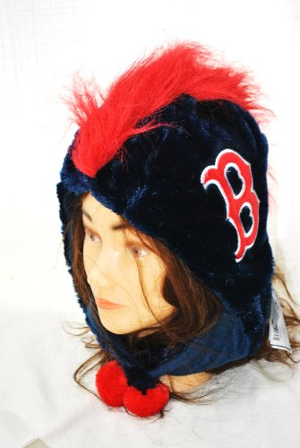 Mohawk Santa - Boston Red Sox 2012 Mohawk Short Thematic Hat