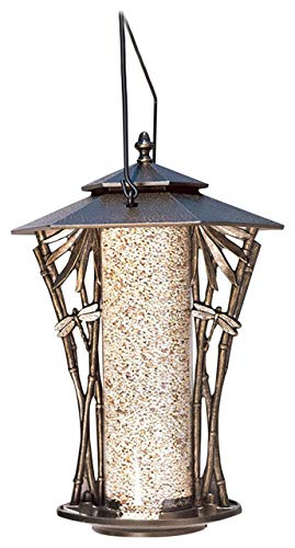 Whitehall Products Dragonfly Silhouette Feeder, 12-Inch, French ()
