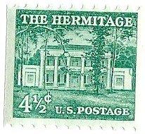 (1954 Hermitage 4 1/2 Cent US Postage Stamp Coil MNH Scott)