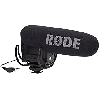 Rode VideoMicPro Compact Directional On-Camera Microphone with Rycote Lyre Shockmount, Black (B00YAZHRZM) | Amazon Products