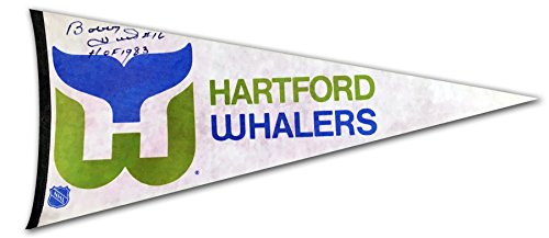 autographed-bobby-hull-pennant-hartford-whalers