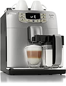Saeco Philips Intelia Deluxe Espresso Machine, Silver