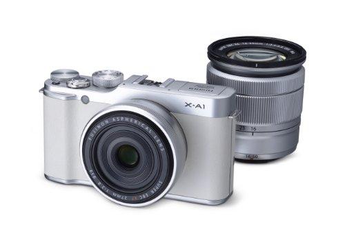 フジフイルム XA1 ホワイト Premium White Box XC 1650mm F3.55.6 OIS XF 27mm F2.8