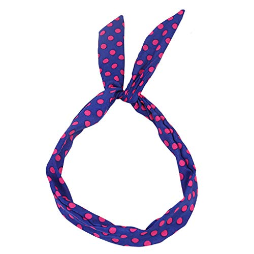 Women Hair Band Bows Accessories Printed Boho Floal Style Makeup Headband for Fashion Or Sport Girls Headwraps