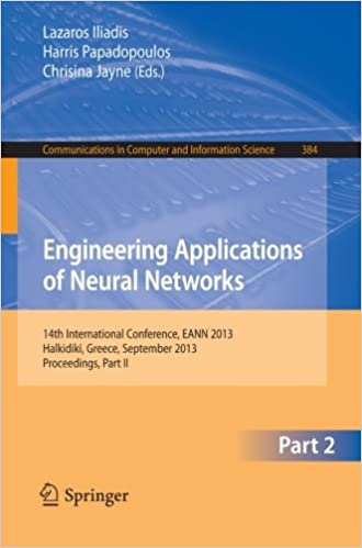 Engineering Applications of Neural Networks: 14th