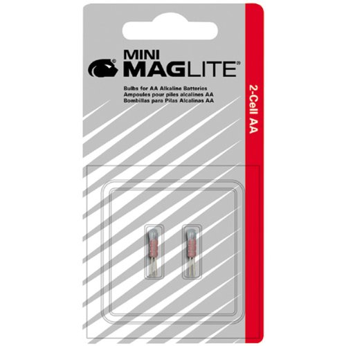 MagLITE Replacement Mini-Mag AA Bulbs - 2 Pack ()