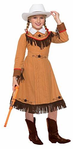 Forum Novelties Kids Western Texas Rosie Costume, Small