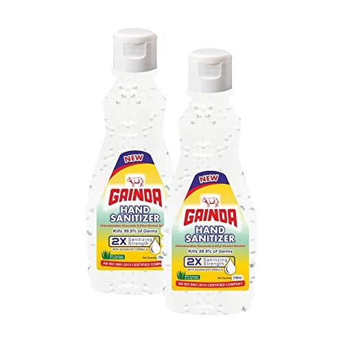 Gainda Hand Sanitizer, 250ml (Pack of 2)