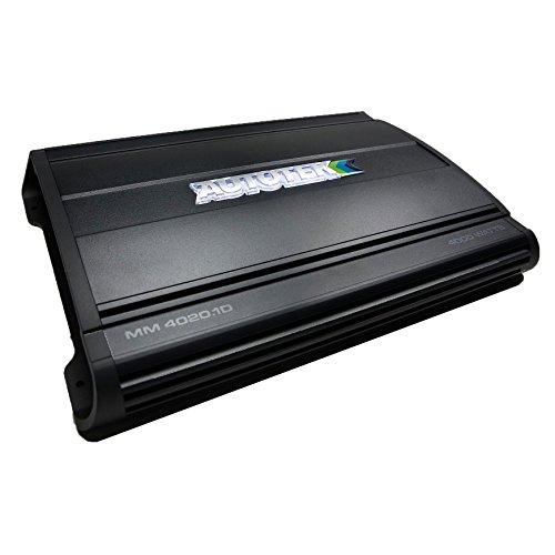 Autotek MM4020.1D Mean Machine 4000W Mono Amplifier 1-Ohm Stable Car Audio Amp