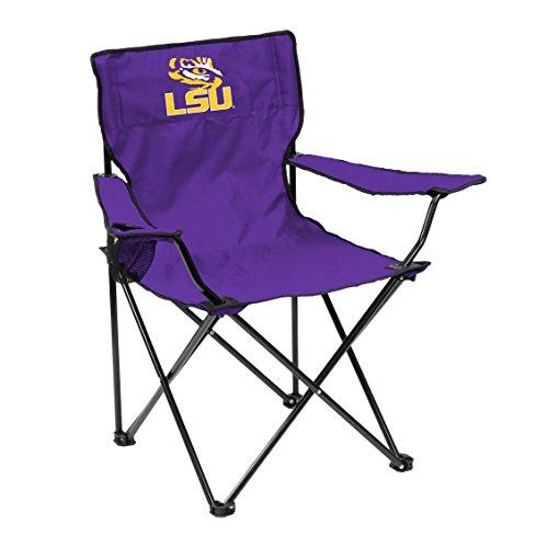 Logo NCAA Lsu Tigers Adult Quad Chair, (Lsu Tigers Chair)