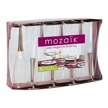 Mozaik Premium Champagne Flutes - 8 Pieces