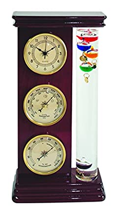 Koch 10511 weather station with galileo thermometer for Koch thermometer