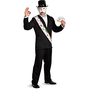 Monopoly Deluxe Adult Costume - X-Large (42-46) [Apparel] (disfraz)