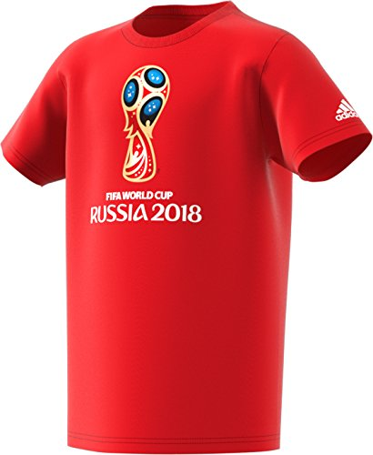 World Cup Soccer World Cup Emblem Youth Boys World Cup Emblem Tee, Medium, (Soccer Ball Youth T-shirt)