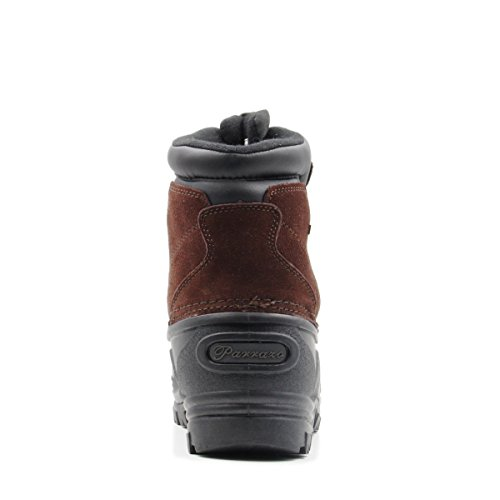 Zipper Resistance 02 Brown Boots Snow Parrazo up Duty Winter Hiking Heavy Water and Mens Duck aqpEHS