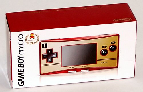 GBA Micro System Famicom Version