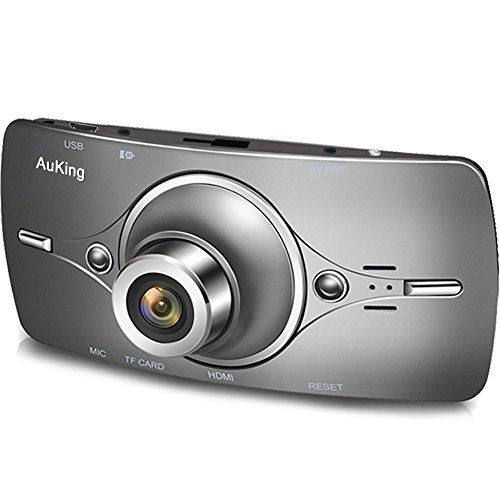 Dash Cam,AuKing 2.7'' LCD Full HD 1080P in Car Cam DVR Dashboard, Video Recorder, with G-Sensor, Automatic Loop Recording, WDR, Parking Monitoring,Motion Detection by AuKing (Image #1)