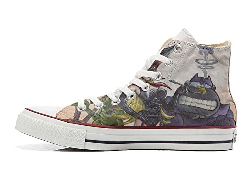 Handwerk Old All personalisierte Customized Cartoon Schuhe Star Converse Hi Schuhe S fYz1q
