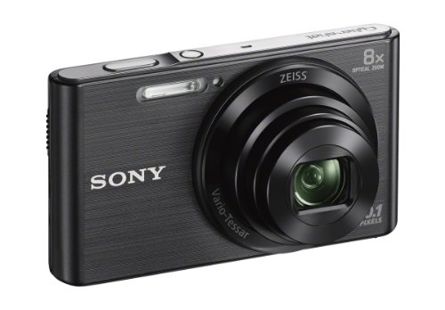 Sony Dscw830b 20.1 Mp Digital Camera With 2.7-inch Lcd (Black)
