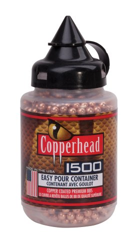Copperhead BBs, 1500 Count