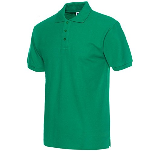 Richard Nguyen Men Polo Shirt Brand Mens Solid Color Polo Shirts Camisa Masculina Men's Casual Cotton Short Sleeve Polos 05 XXXL